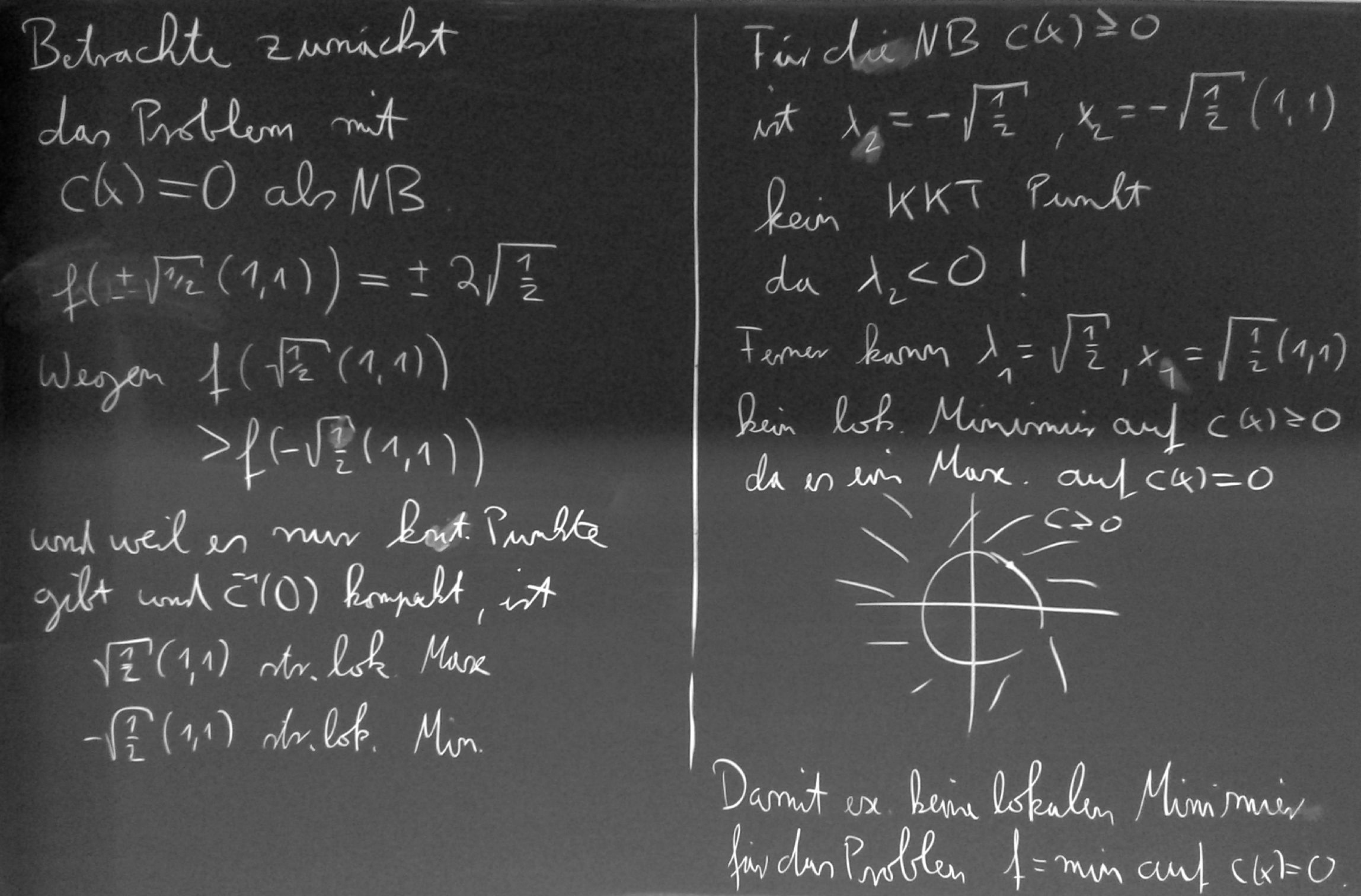 Programming exercises for mathematical image processing